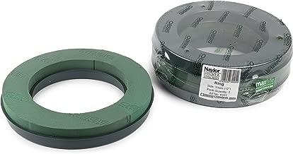 """Pack of 2 Oasis Naylorbase Plastic Based Floral Foam Ring 31cm (12"""")"""