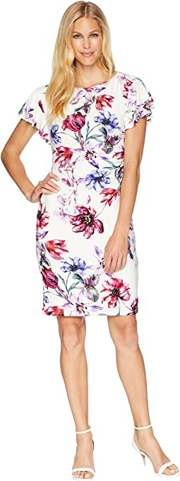B595 Swansong Floral Latoya Day Dress