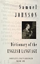 Samuel Johnson First Dictionary