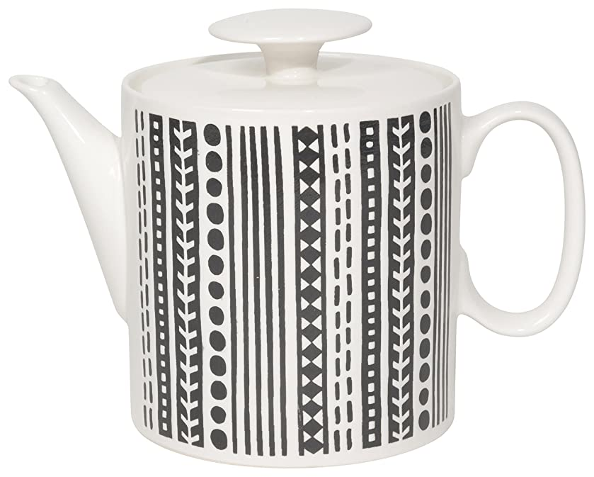 Now Designs Embossed Teapot, Canyon