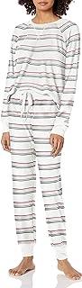 PJ Salvage Women's Loungewear Ski Jammie Classics Pajama Set