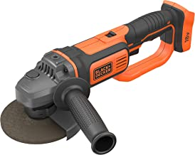 BLACK+DECKER 18 V 125 mm draadloze haakse slijpmachine Power Tool, BCG720N-XJ
