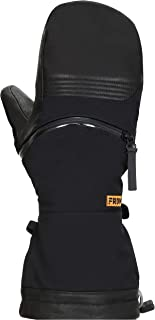 FRDM Cold Weather Snow Mitt- Waterproof Windproof Leather Convertible Snowboard Ski Snowmobile for Men and Women