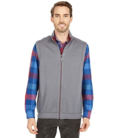 Tommy Bahama Flipshore Full Zip Vest (Spa Stone) Men