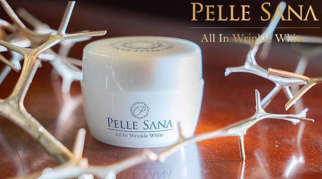 嫌悪悲劇メッシュ【薬用オールインワンジェル】PELLE SANA (ペレサナ) All In Winkle White 100g