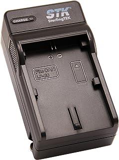 STK LP-E6 Battery Charger for Canon EOS 5D Mark II III and IV 70D 5Ds 6D 5Ds 80D 7D and 7D Mark II 60D Cameras LP-E6 Batte...