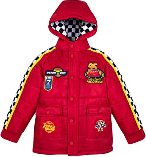 Disney Lightning McQueen Hooded Jacket for Boys Multi