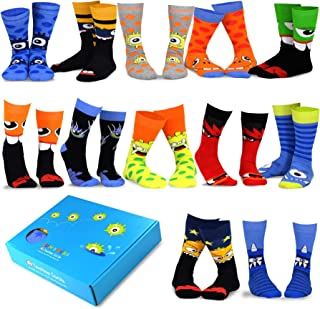 TeeHee Special (Holiday) 12-Pairs Socks with Gift Box.