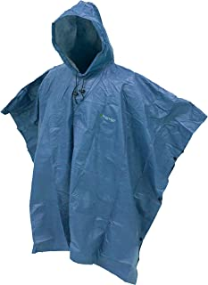 Frogg Toggs Ultra-Lite2 Waterproof Breathable Poncho, Blue, One Size