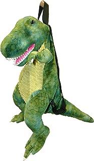 Great Gizmos T-Rex - Mochila infantil (46 cm), diseño de dinosaurio, color verde