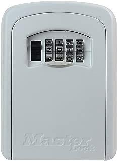 Master Lock Aluminium combination lock box for keys - discreet cream colour