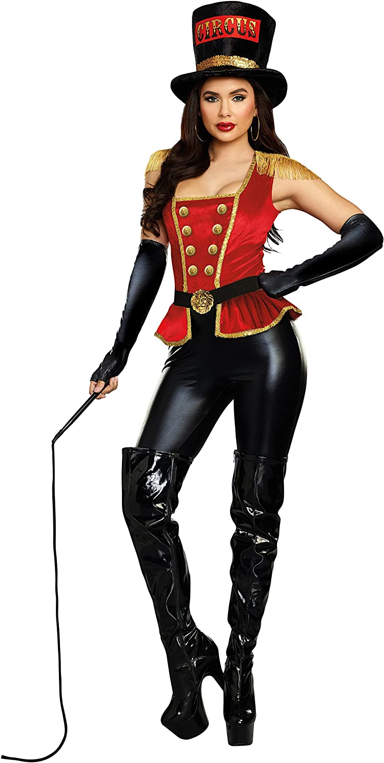 Limited time cheap sale Dreamgirl Women's Flirty Lion Tamer Free shipping anywhere in the nation Dress Costume Circus