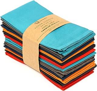 Ruvanti Multi Color Cloth Napkins 12 Pack (18