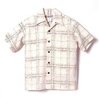 HULA KEIKI (フラケイキ) アロハシャツ【ラフチェック rough check 】HK-19003 / CREAM