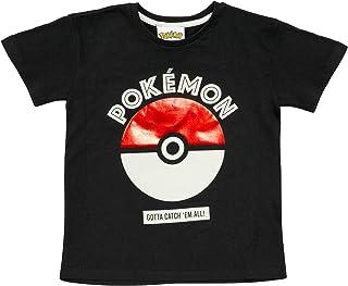 Pokemon Poke Ball Catch Em All Jongens T-shirt | Official Merchandise | Kids Anime Top, Idee van de Gift voor jongens