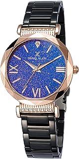 DANIEL KLEIN Premium Alloy Case Stainless Steel Band Ladies Wrist Watch - DK.1.12485-5