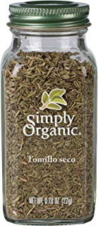 Simply Organic Tomillo Seco, 22 g