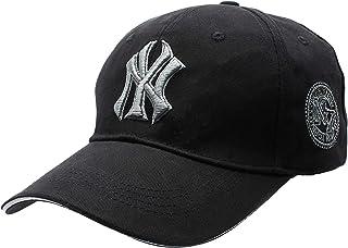 Black Cotton Baseball Hat For Unisex