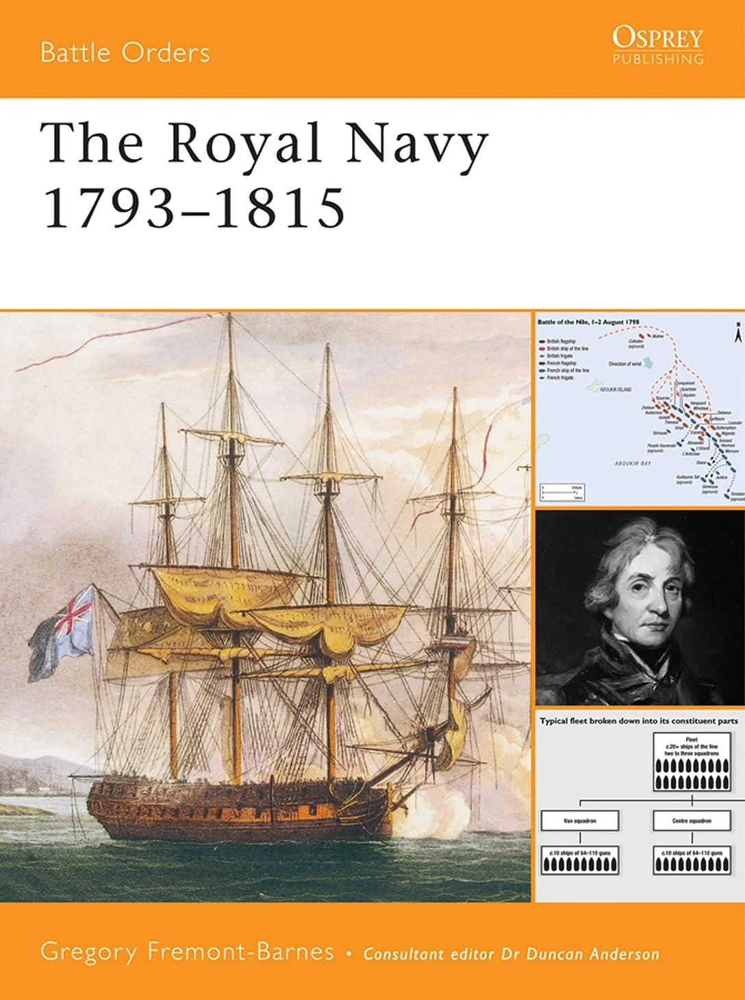 複数エージェントニュースThe Royal Navy 1793–1815 (Battle Orders Book 31) (English Edition)