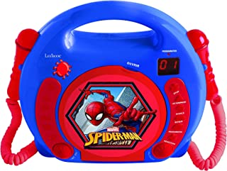 LEXiBOOK Spider-Man CD Player with Microphones