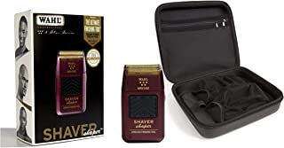 Wahl Professional 5-Star Series Rechargeable Shaver/Shaper #8061-100 with Travel Storage Case #90731 Great for Barbers and Stylists