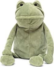 Jellycat Fergus Frog Stuffed Animal, Medium, 12 inches