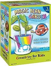 Creativity for Kids Magic Bean Garden, Reveal & Grow Magic Messages - Nature & Garden Kit For Kids