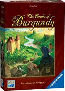 Ravensburger The Castles of Burgundy Board Game - Fun Strategy Game That's Easy to Learn and Play with Great Replay Value