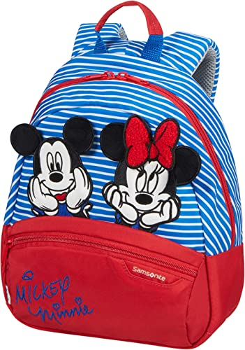 Samsonite Disney Ultimate 2.0 - Sac à Dos pour Enfant, 28,5 cm, 7 L, Multicolore (Minnie/Mickey Stripes)
