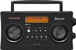 Sangean DPR-26 Bluetooth Black