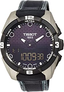 Tissot Men's T0914204605101 T-Touch Expert Titanium Watch