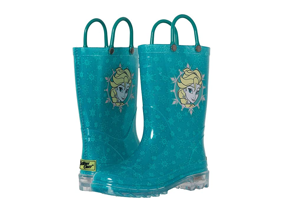 Western Chief Kids Lighted Rain Boots (Toddler/Little Kid) (Icy Elsa) Girls Shoes