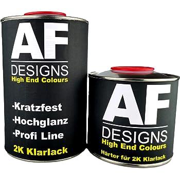 Alex Flittner Designs 2k Klarlack 1 5 Liter Set Mit Härter Autolack Kratzfest Auto