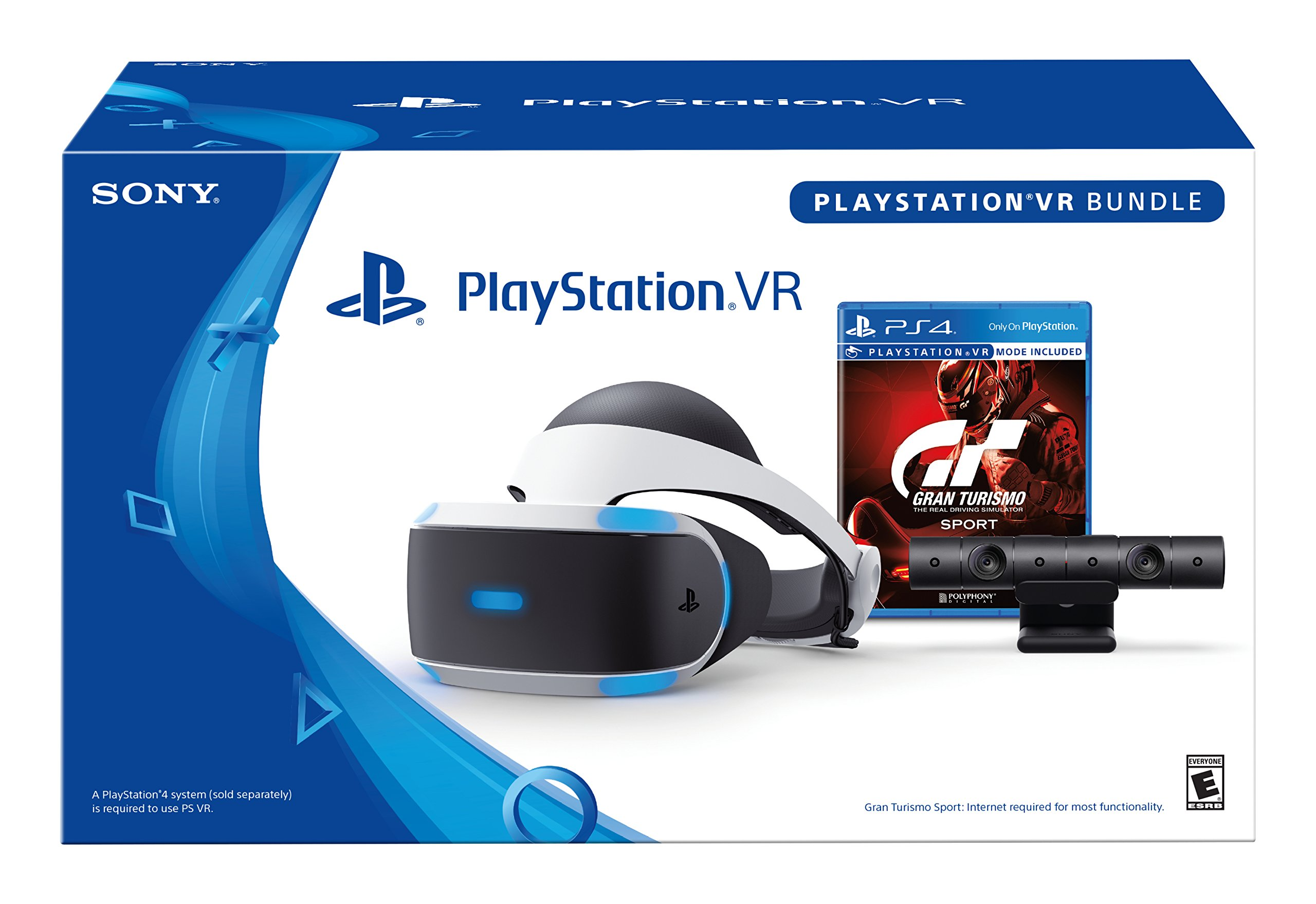 Sony PlayStation VR - GT Sport Bundle [continuado]: Amazon.es: Videojuegos