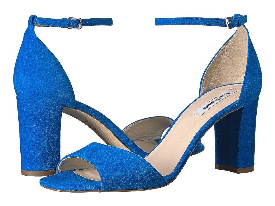 L.K. Bennett Helena (Blue Majorelle Suede) High Heels