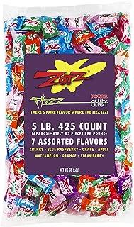 Zotz Fizzy Candy, 7 Flavor Assorted, 5-Pound Bag