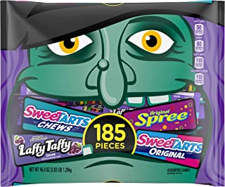 Assorted Halloween Candy Bag, 45.4 Ounce, 185 Pieces