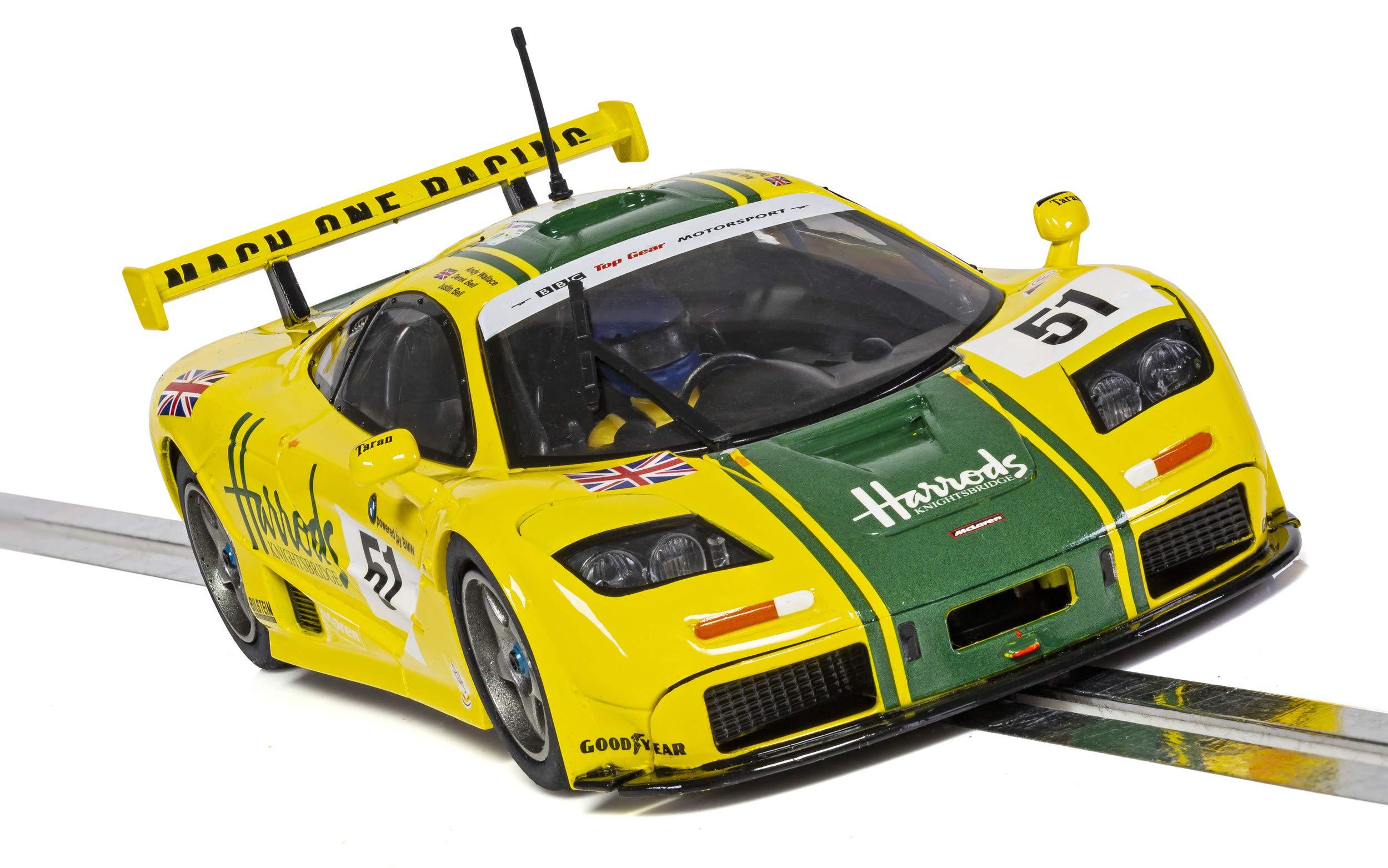 Scalextric C4026 McLaren F1 GTR Le Mans Harrods Livery (1995): Amazon.es: Juguetes y juegos