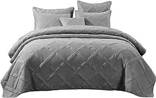 dove grey bedspread