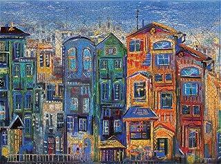 Puzzles for Adults 1000 Piece Large Puzzle, Vintage Paintings Landscape Jigsaw Puzzle-837