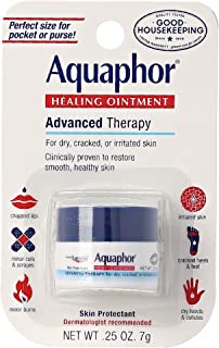 Aquaphor Healing Ointment Advanced Therapy Skin Protectant 0.25 oz (Pack of 4)