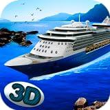 Ocean Voyage Ship Simulator 3D: Luxury Parking Cruise Ship Game   Passenger Transportation Titanic Simulator