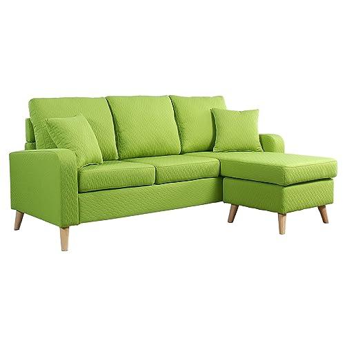 Green Sectional Sofa: Amazon.com
