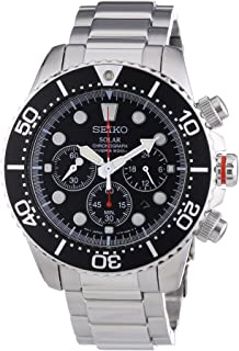 Seiko Men`s SSC015P1 Chronograph Solar Power Stainless Steel Watch