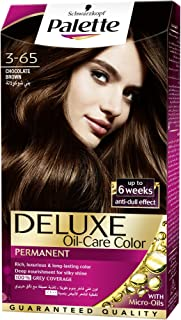 Schwarzkopf Palette Deluxe Oil- Care Color Permanent 3-65 Chocolate Brown (115ml)