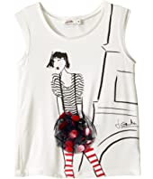 Junior Gaultier - Eiffel Tower Tee Shirt (Toddler/Little Kids)
