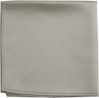 Mens Pocket Square Hanky Multiple Solid Colors Sized for Boys and Men
