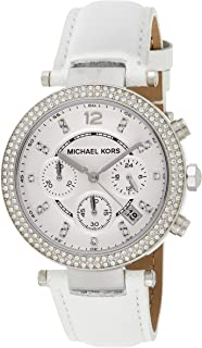 Michael Kors Parker Watch for Women - Analog Leather Band - MK2277