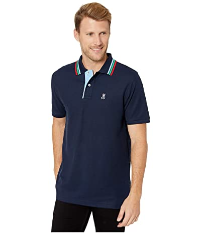 Psycho Bunny Shortlands Polo (Navy) Men
