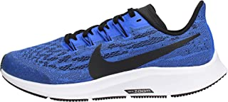 Nike Kids' Grade School Zoom Air Pegasus 36 Running Shoes (5.5, Racer Blue/White)